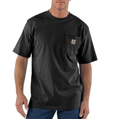 Men's Workwear Pocket Short Sleeve T Shirt |