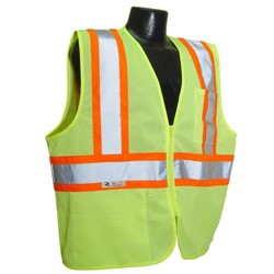 Radians Class 2 Safety Vest with Two-Tone Trim